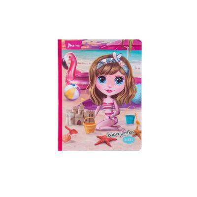 Cuaderno-Bonequinhas-Dolls