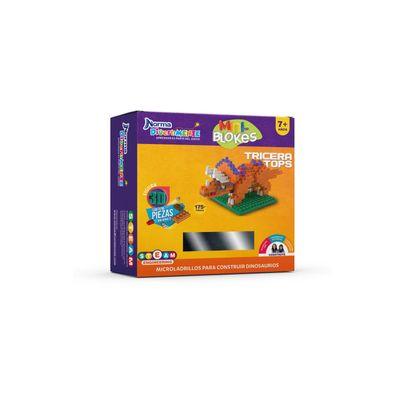Mini-Bloques-Triceratops-Norma-Divertimente