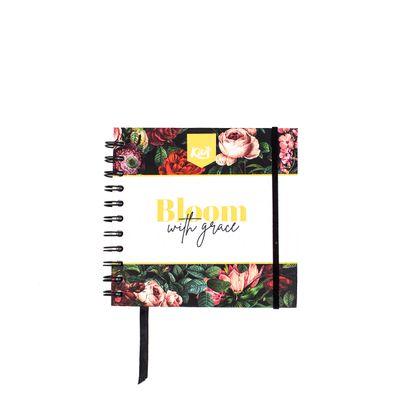 Cuaderno-Kiut-Forever-Diferenciado-Cuadrado-Negro-Vintage