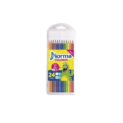 Colores-Norma-X-24---Lapiz-Duplo-En-Caja-Plastica