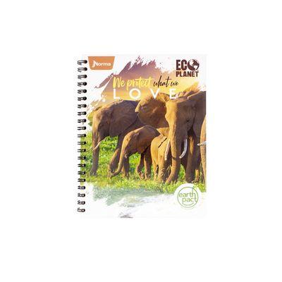 Cuaderno-Ecologico-Elefante-Manada