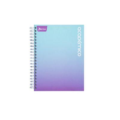 Cuaderno-Academico-Verde-Violeta
