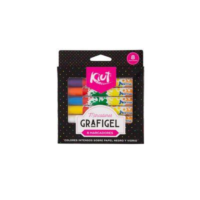 Marcadores-Grafigel-Kiut-X-8