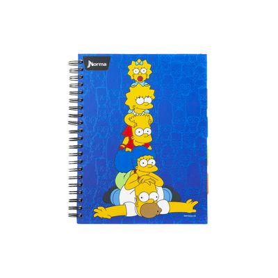 Cuaderno-Simpsons