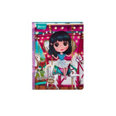 Cuaderno-Norma-Bonequinhas-Dolls-Keyko-en-Carrusel