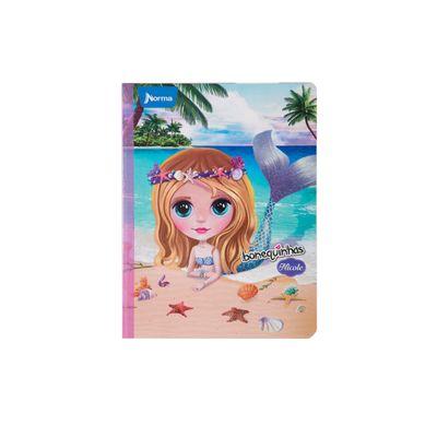 Cuaderno-Norma-Bonequinhas-Dolls-Nicole-Sirena
