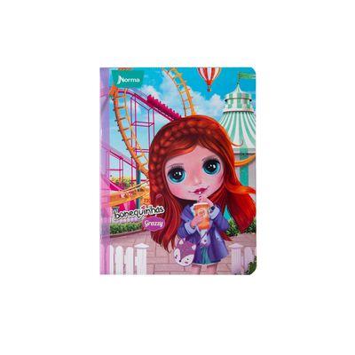 Cuaderno-Norma-Bonequinhas-Dolls-Grazzy-Parque-de-Diversiones