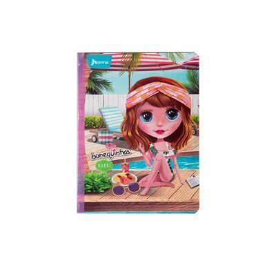 Cuaderno-Norma-Bonequinhas-Dolls-Nanni-en-Piscina
