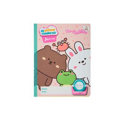 Cuaderno-Norma-Mi-Primer-Cuaderno-A-Animales-Divertidos