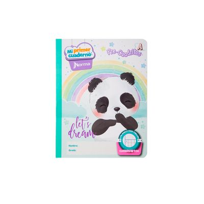 Cuaderno-Norma-Mi-Primer-Cuaderno-A-Oso-Panda