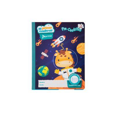 Cuaderno-Norma-Mi-Primer-Cuaderno-A-Jirafa-Espacial
