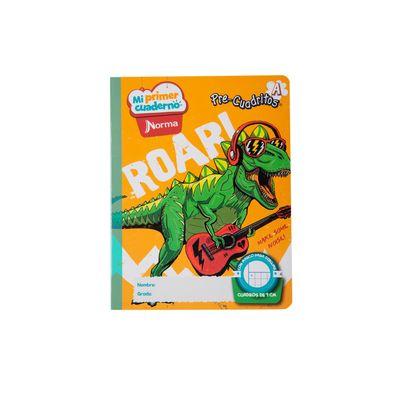 Cuaderno-Norma-Mi-Primer-Cuaderno-A-Dinosaurio-Rockero