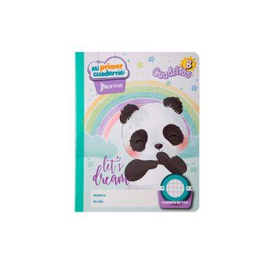 Cuaderno-Norma-Mi-Primer-Cuaderno-B-Oso-Panda