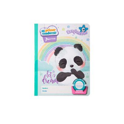 Cuaderno-Norma-Mi-Primer-Cuaderno-C-Oso-Panda