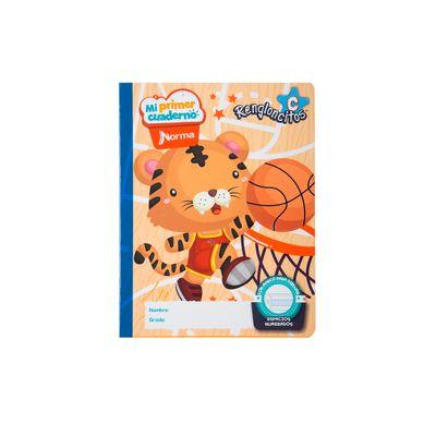 Cuaderno-Norma-Mi-Primer-Cuaderno-C-Tigre-Basketbolista