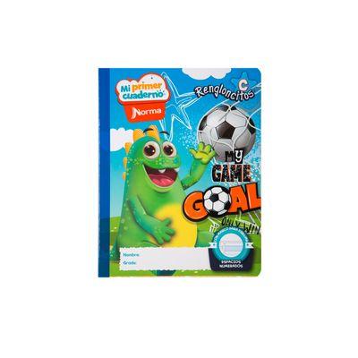 Cuaderno-Norma-Mi-Primer-Cuaderno-C-Dragui-Futbolista