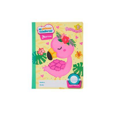 Cuaderno-Norma-Mi-Primer-Cuaderno-D-Flamingo-Tropical