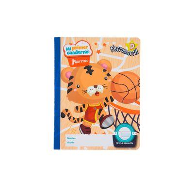 Cuaderno-Norma-Mi-Primer-Cuaderno-D-Tigre-Basketbolista
