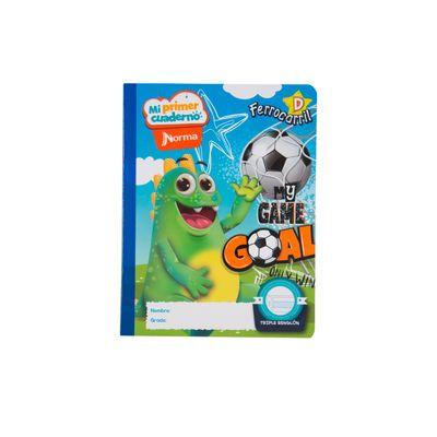 Cuaderno-Norma-Mi-Primer-Cuaderno-D-Dragui-Futbolista