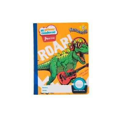 Cuaderno-Norma-Mi-Primer-Cuaderno-D-Dinosaurio-Rockero