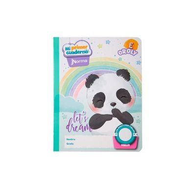 Cuaderno-Norma-Mi-Primer-Cuaderno-E-Croly-Oso-Panda