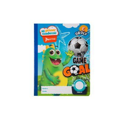 Cuaderno-Norma-Mi-Primer-Cuaderno-E-Croly-Dragui-Futbolista