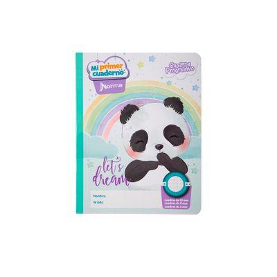 Cuaderno-Norma-Mi-Primer-Cuaderno-Progresivo-Oso-Panda