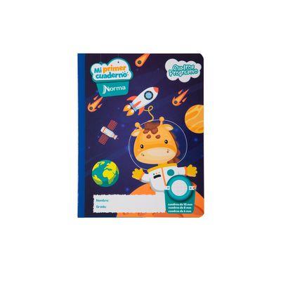 Cuaderno-Norma-Mi-Primer-Cuaderno-Progresivo-Jirafa-Espacial