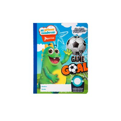 Cuaderno-Norma-Mi-Primer-Cuaderno-Progresivo-Dragui-Futbolista