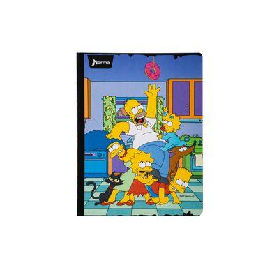 Cuaderno-Norma-Los-Simpsons-Familia