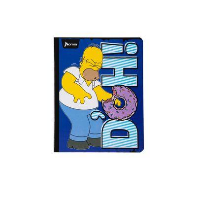 Cuaderno-Norma-Los-Simpsons-Homero