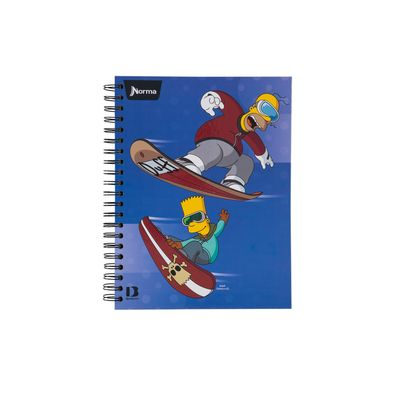 Cuaderno-Norma-The-Simpsons