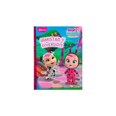 Cuaderno-Norma-Cry-Babies