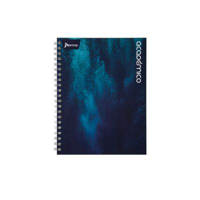 Cuaderno-Argollado-Tapa-Dura-Grande-Mixto-Norma-Academico-Azul-Glaciar